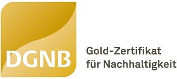 Siegel DGNB Gold zertifiziert