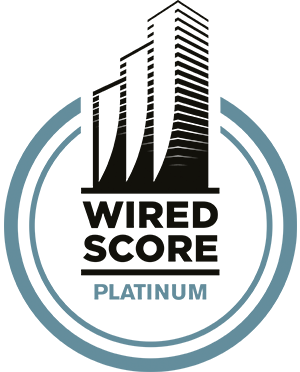Siegel Wiredscore Platinum zertifiziert
